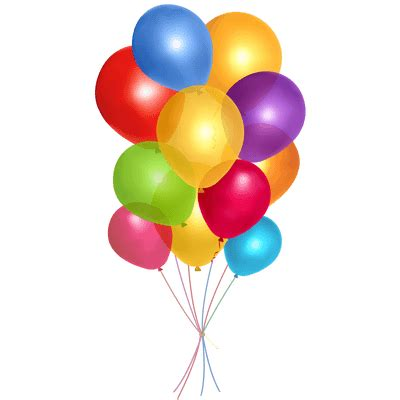 Simple Group Balloons transparent PNG StickPNG