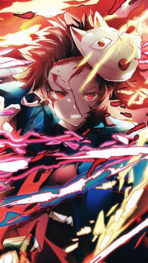 tanjiro flame kimetsu  yaiba  wallpaper