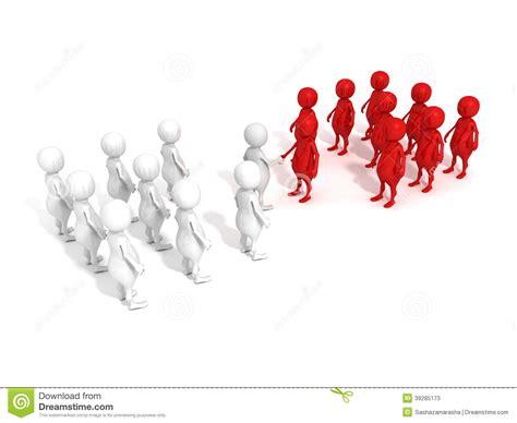 team leaders shaking hands stock illustration image
