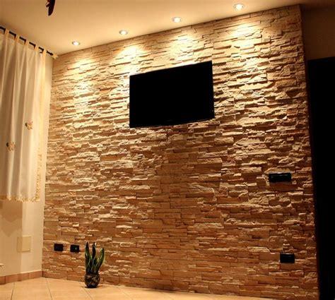 Parete Di Pietra Interna - wall rivestimento della parete in pietra ricostruita