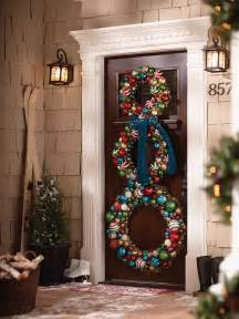 10 pretty christmas door decorations home design garden architecture blog magazine