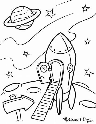 Coloring Pages Solar Printable System Space Sheets