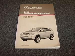 2006 Lexus Rx400h Suv Factory Original Electrical Wiring
