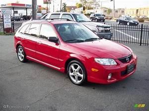 Classic Red 2002 Mazda Protege 5 Wagon Exterior Photo  39039539