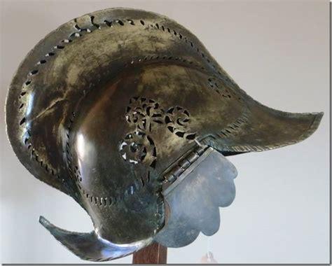 Moro (philippine) Burgonet, Spanish Style Bronze Helmet