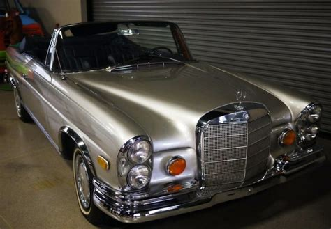 1969 Mercedes Benz 280 Se Convertible