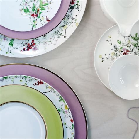 Rosenthal Fleurs Sauvages rosenthal brillance fleurs sauvages dinnerware collection