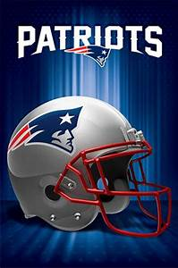 New England Patriots Logo 13 Wall Poster