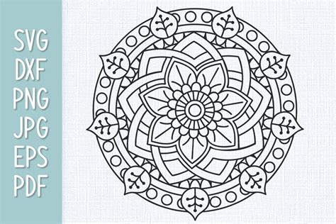 Mandala svg svg mandala decoration decorative element floral ornament background style decor flower colorful template symbol pattern color ornate ornamental icon artistic abstract shape collection mandalas vintage artwork circular beautiful swirl vector floral outline retro leaf icons isolated circle. Mandala SVG