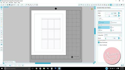 happy planner page template happy planner printing hack how to print directly onto your happy planner pages tutorial