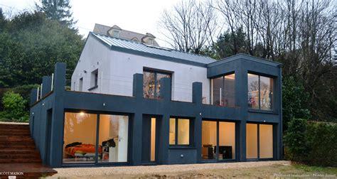 le bureau contemporain extension de maison ninon josset côté maison