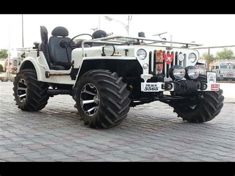 mahindra jeep classic modified indian offroads 4x4 custom modified jeeps mahindra classic