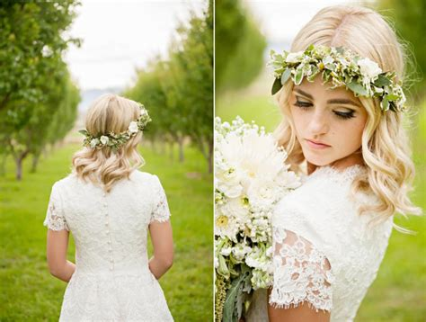 Wedding For Medium Hair : Gorgeous Wedding Hairstyles For Medium Length Hair