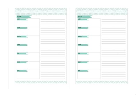 agenda free printable conillpanxut