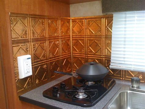 New Kitchen Back Splash in our 14RB   Modifications   KZ