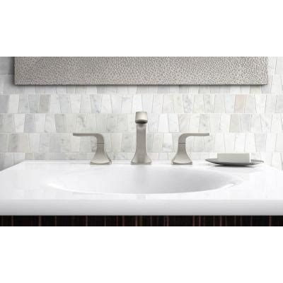 Kohler Rubicon 8 in. Widespread 2 Handle Bathroom Faucet