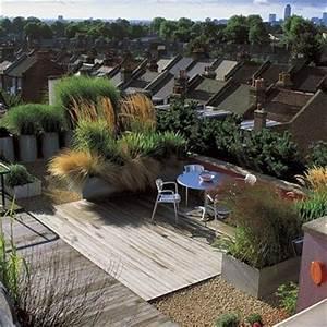 Aménagement Toit Terrasse : jard n en una terraza o azotea guia de jardin aprende a cuidar tu jard n ~ Melissatoandfro.com Idées de Décoration