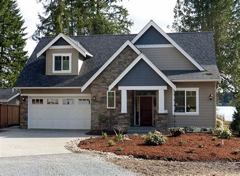 story craftsman cottage houseplan  perfect