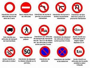 Code De La Route Signalisation : panneaux dinterdiction ~ Maxctalentgroup.com Avis de Voitures