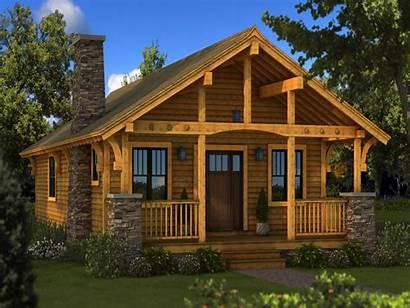 Cabin Plans Log Floor Homes Cabins Inside