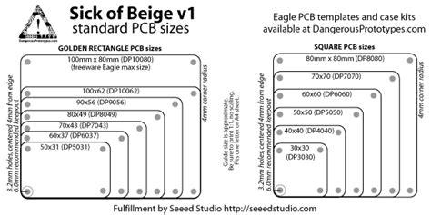 Sick Of Beige Standard Pcb Sizes V10 Dp