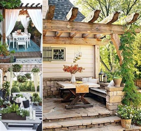 Outdoor Home Decor Ideas by 29 Cool Pergola Decor Ideas To Beautify Your Home S