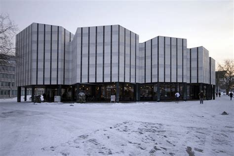 ad classics wolfsburg cultural center alvar aalto archdaily