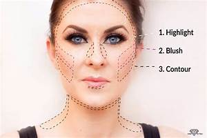 How To Apply Contour And Highlighter