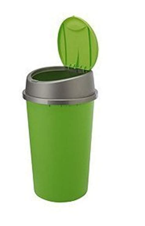 lime green kitchen bin 45l liter plastic touch top bin waste rubbish dustbin home 7089