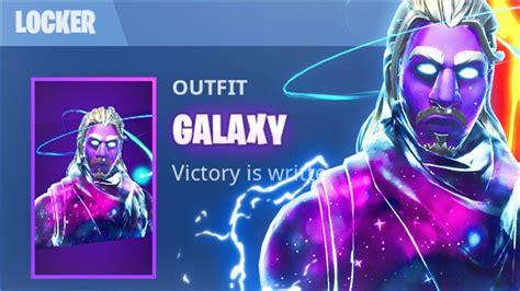 galaxy skin glitch fortnite battle royale galaxy
