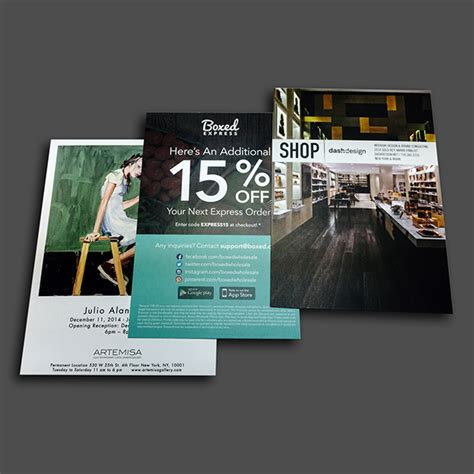 postcard printing  nyc