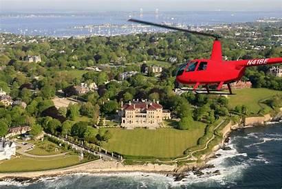 Helicopter Charter Newport Cost Tour Flight Breakers