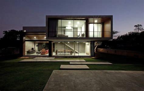 Hausbau Architekturtrends Design Exterior Minimalismus