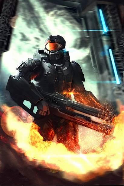 Chief Master Halo Concept Deviantart Fan Anime