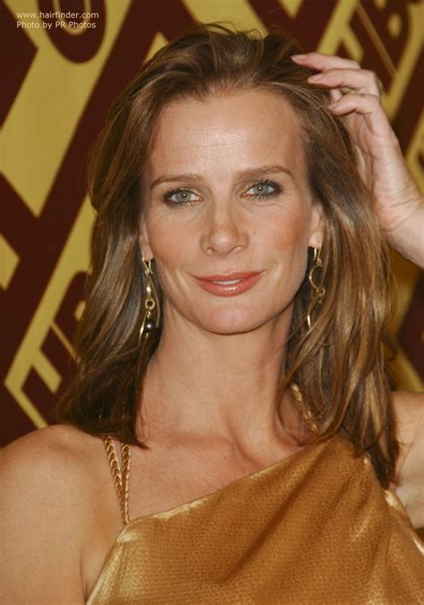 rachel griffiths natural  blonde hair brushed