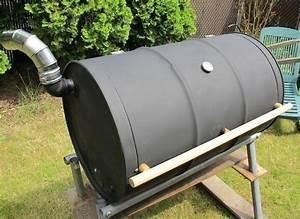 Fabriquer Un Barbecue Avec Un Bidon : 1001 id es baril barbecue et tonneaux ~ Dallasstarsshop.com Idées de Décoration