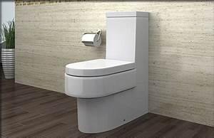 Wc Mit Spülkasten : lux aqua stand wc mit nano beschichtu ng softclose a391 ebay ~ A.2002-acura-tl-radio.info Haus und Dekorationen