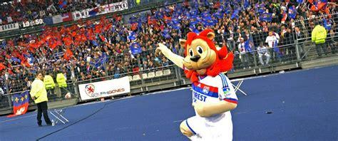 Lyou Mascotte De Olympique Lyonnais Multicreation