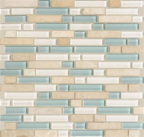 American Olean Mosaic Tile Colors by Arctic Blend Random Legacy Glass By American Olean