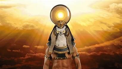 Horus God Hawk Eyes 8th Gifs Ra