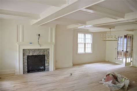 trim and walls are benjamin navajo white with satin