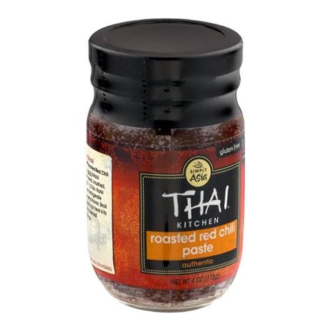 Thai Kitchen Roasted Red Chili Paste  Hyvee Aisles