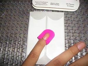 Curved Fingernail Tips
