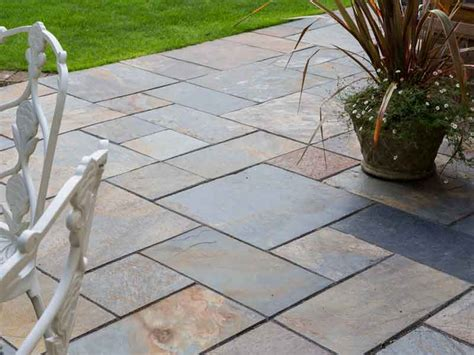 copper slate paving slabs