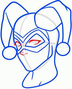 How to Draw Harley Quinn, Step by Step, Dc Comics, Comics ...