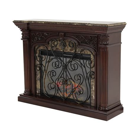 el dorado furniture astoria 60 quot faux fireplace