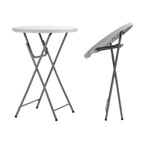 table haute pliante table pliante mange debout en polypro table pliante mange debout ronde