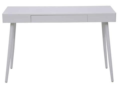 chaise de bureau racing bureau 120 cm oslo coloris blanc vente de bureau conforama