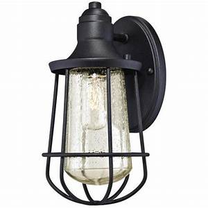 westinghouse elias black 1 light outdoor wall light at With outdoor lighting fixtures at menards