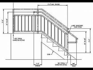 Deck Stair Railing MeasurementsDeck Stair Railing Post